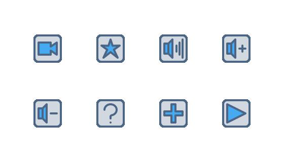 媒体播放器UI